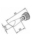 Μύτες κόλλησης-102 ERSADUR Long-Life Soldering Tip Series