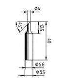 Μύτες κόλλησης-832/842 ERSADUR Long-Life Soldering Tip Series