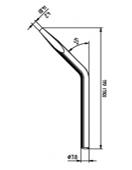 Μύτες κόλλησης- 032/052/082/042/012/152  ERSADUR Long-Life Soldering Tip Series