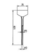 Μύτες αποκόλλησης - 422 ERSADUR Desoldering Tip Series