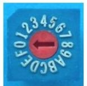 DIP SWITCH MS830-16RS