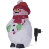 ZY1902 40LED IP44 SNOWMAN
