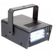 Μini stroboscope με 24 λευκά LED ibiza light