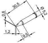 Μύτη κόλλησης  ERSA 0102CDLF12