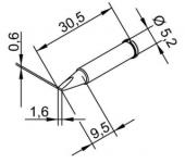 Μύτη κόλλησης  ERSA 0102CDLF16