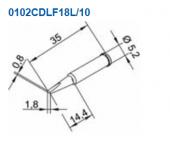 Μύτη κόλλησης  ERSA 0102CDLF18L