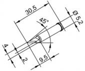Μύτη κόλλησης  ERSA 0102BDLF20