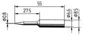 Μύτη κόλλησης  ERSA 0832 SD/SDLF