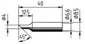 Μύτη κόλλησης  ERSA 0832 NDLF