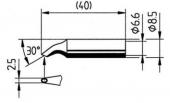 Μύτη κόλλησης  ERSA 0832 HD