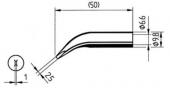 Μύτη κόλλησης  ERSA 0832WD