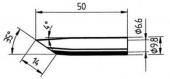 Μύτη κόλλησης  ERSA 0832 GDLF