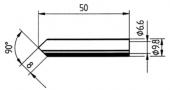 Μύτη κόλλησης  ERSA 0832 MDLF