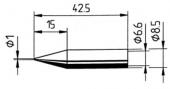 Μύτη κόλλησης  ERSA 0842 BD/BDLF
