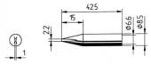 Μύτη κόλλησης  ERSA 0842 CD/CDLF