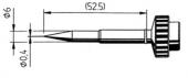 Μύτη κόλλησης  ERSA 0612 SDLF