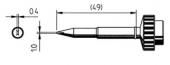 Μύτη κόλλησης  ERSA 0612 CDLF