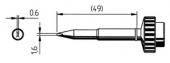 Μύτη κόλλησης  ERSA 0612 ADLF