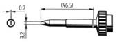 Μύτη κόλλησης  ERSA 0612 EDLF