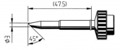 Μύτη κόλλησης  ERSA 0612ND