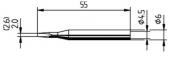 Μύτη κόλλησης  ERSA 0162KD