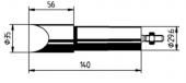 Μύτη κόλλησης  ERSA 0552MZ/0552MD
