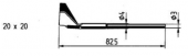 Μύτη αποκόλλησης  ERSA 0422QD4