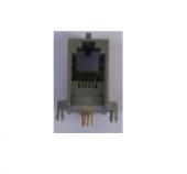 Βάση μονή  pcb 4p4c RJ11