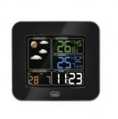 Μετεωρολογικός σταθμός με θερμόμετρο & ρολόι TREVI ME 3165 RC