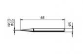 Μύτη κόλλησης  ERSA 0032BD