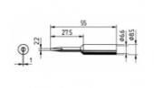 Μύτη κόλλησης  ERSA 0832 KD/KDLF