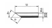 Μύτη κόλλησης  ERSA 0832 LDLF