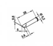 Μύτη κόλλησης  ERSA 0102CDLF50
