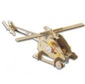 Ξύλινο μηχανοκίνητο ελικόπτερο KNS4